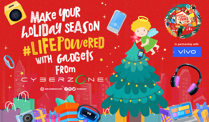 Experience a #LifePowered Holiday with Cyberzone
