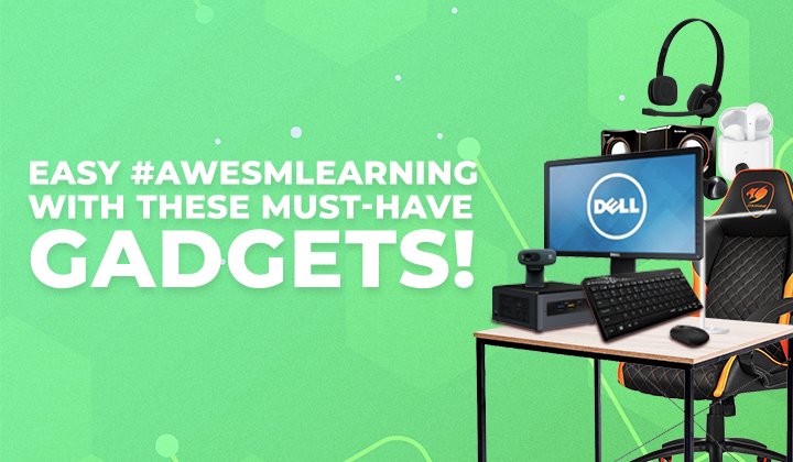 Easy #AweSMLearning With These Must-Have Gadgets  From SM Cyberzone!