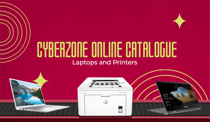 Cyberzone Online Catalogue: Laptops and Printers