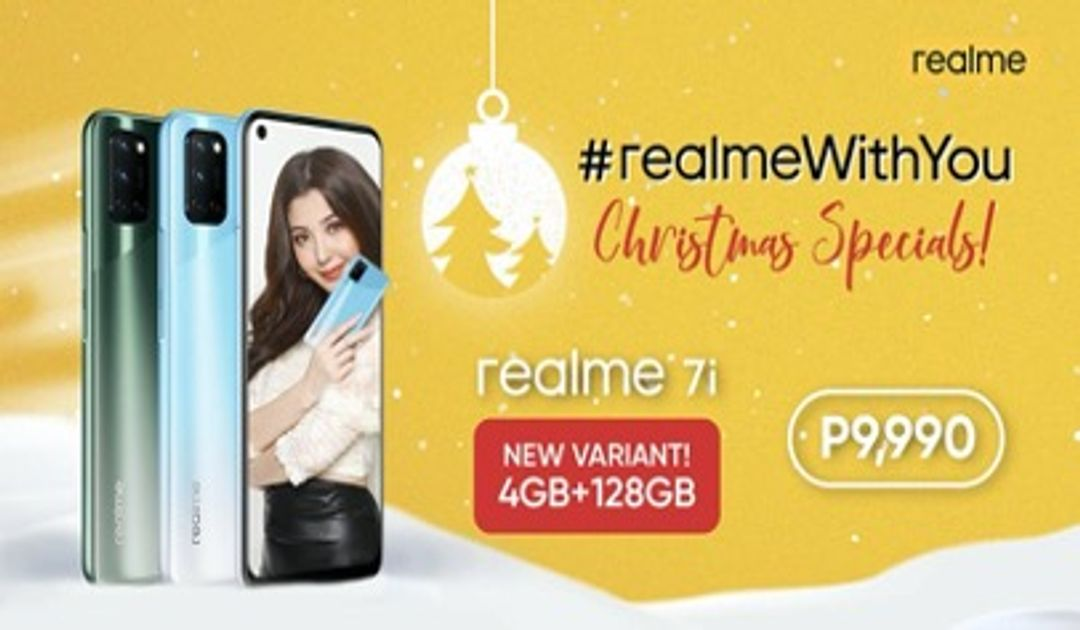 Capture Every Style this Christmas as realme launches new realme 7i variant