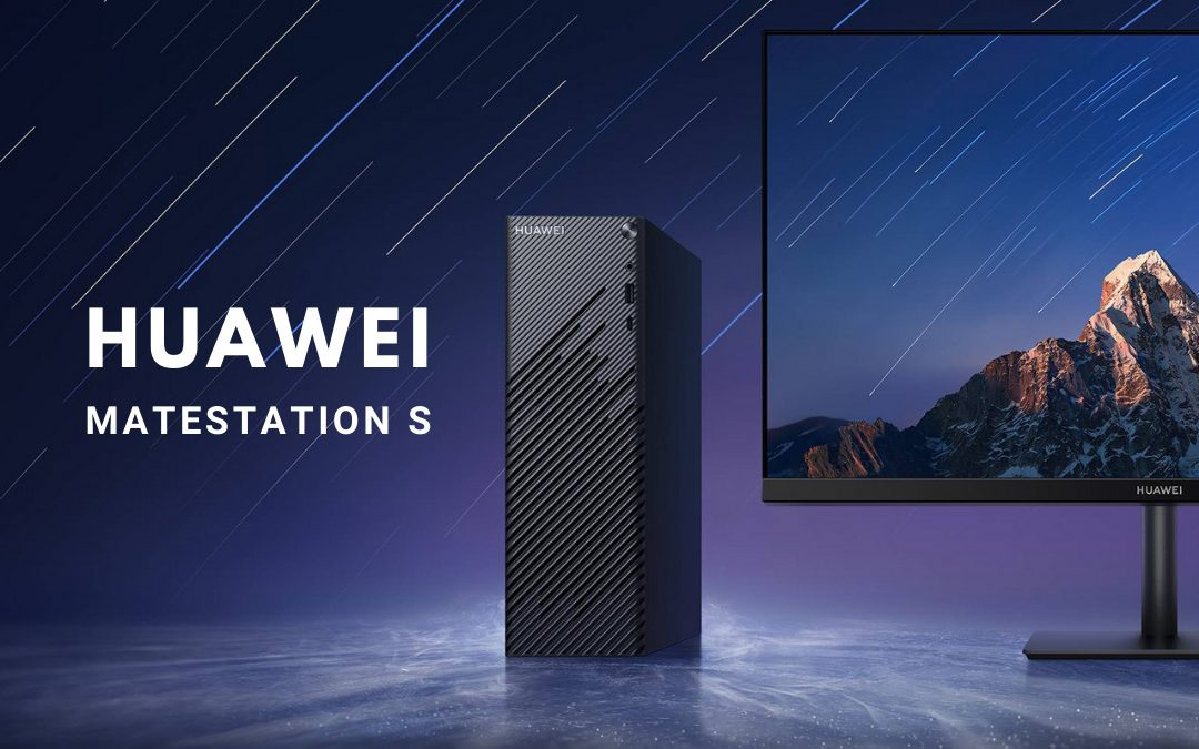 First Look: Huawei MateStation S + 23.8-Inch FullView Display